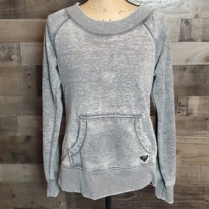 Roxy grey sweatshirt large